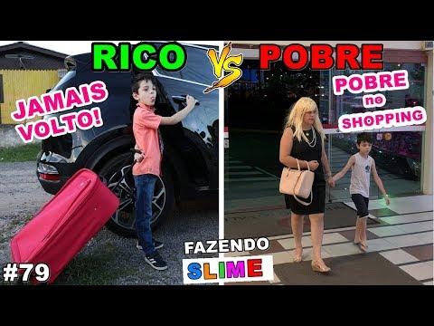 RICO VS POBRE FAZENDO AMOEBA / SLIME #79