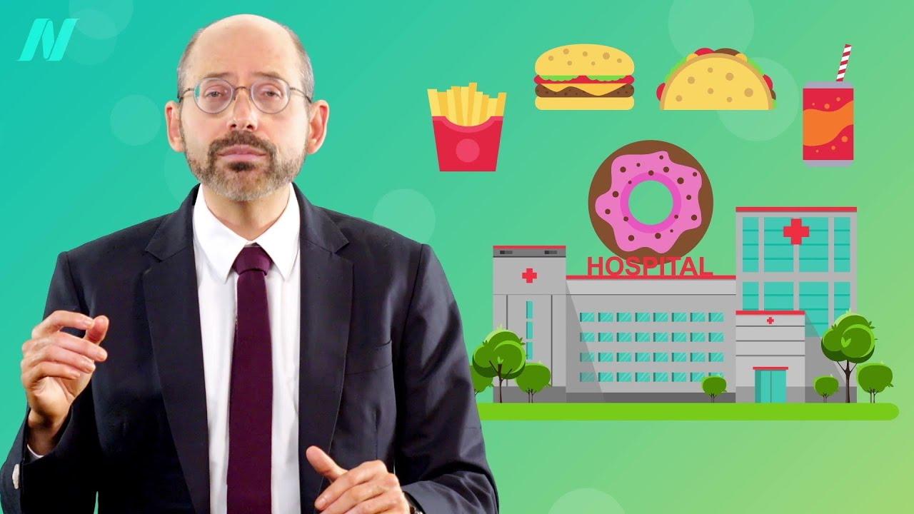 Hospitals Profit on Junk Food