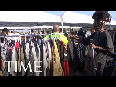 Chris Brown Held A High-End Yard Sale At His Los Angeles Home | TIME