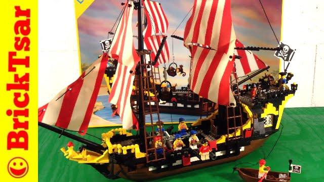 Black Seas Barracuda Lego 6285 Pirate System 1989 Vintage Set Review