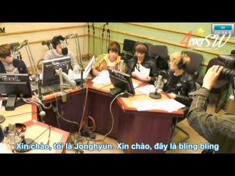 [vietsub]120324 Kiss The Radio - SHINee 1/4