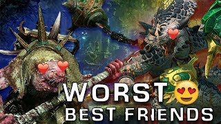 warhammer 2 lord skrolk and gor rok worst best friend w majorkill