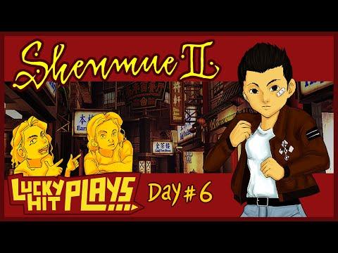Shenmue II Day #6: Viva Sakura Festival - Lucky Hit Plays