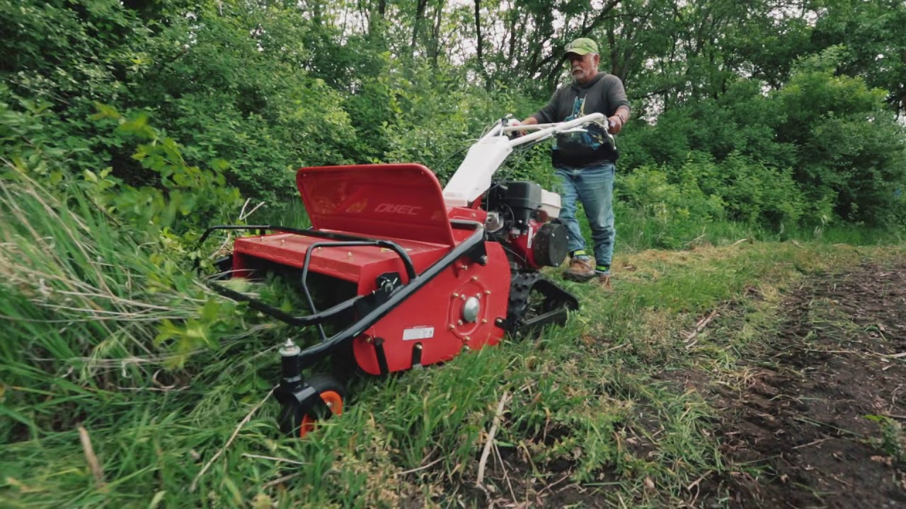 Maintain Trails with a Flail Mower