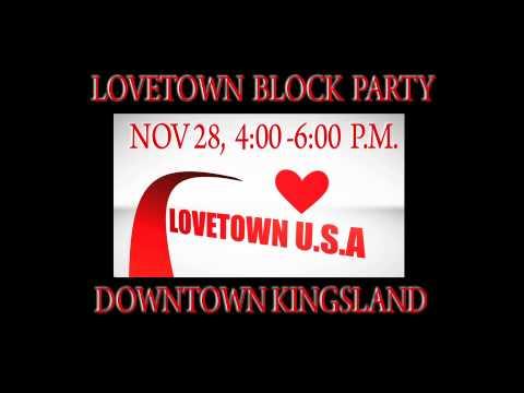 LOVETOWN U.S.A, KINGSLAND GA  BLOCK PARTY