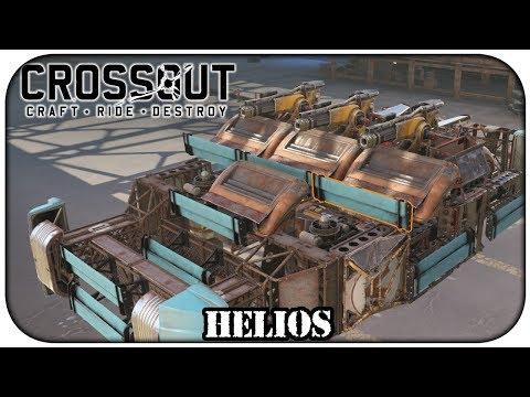 Crossout - Tentando nova arma lendaria de plasma Helios Gameplay PT BR