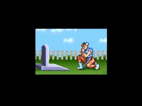 Street Fighter 2 1992 Snes Chun Li Ending Youtube