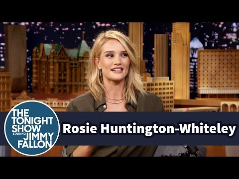 Rosie HuntingtonWhiteley Teaches Jimmy Cockney Slang