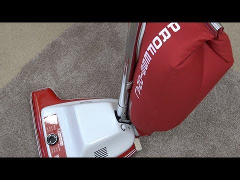 Electrolux Widetrack C2116 Professional Upright Vacuum Cleaner Unboxing