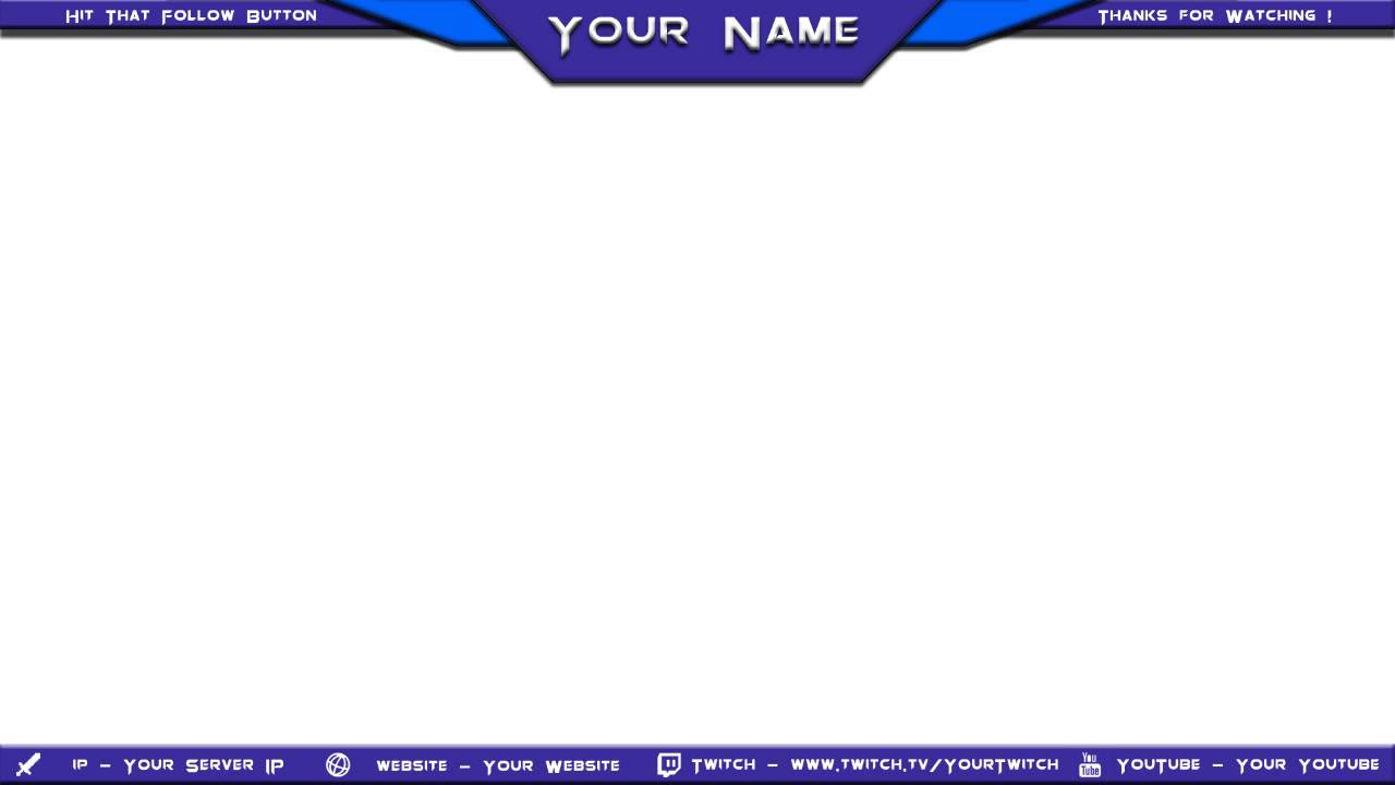 Twitch Cute Obs Overlays