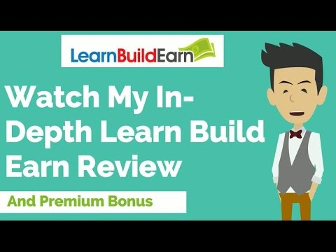 My [Full] Learn Build Earn Review & PREMIUM Bonus Package: (Learn Build Earn Review) Click here to see my Exclusive Premium 'Fast Profit' Learn Build Earn Bonus Package: - http://emarketingchamps.com/learn-build-earn/  ---- If you want a successful re-sale rights info product, the method is simple especially if you find a good Learn Build Earn review site. Set rules as to how much it can be sold for so it doesn't devalue in price, set a number of copies to be sold to something low, around the 500 and downwards mark, set a no auction sites rule for the same devaluation reason, and there we have it. Two products out of one. A high- ticket re-sale, and a high-ticket info product.  One word of warning, you might want to wait a little before you create your Learn Build Earn bonus package, because if someone real good gets their hands on your products, and they're targeting the same market as you, as big as the internet is, you're going to lose a wad of cash.  So there we have it. An outline, and a basic rule set for creating info products and getting the most out of them. It's not rocket science by any means, but there was no way that I'd be leaving this section out just because it sounds like common sense to some people. As far as this course goes, if it's important, if it works, and makes you more contacts, gets you customers and puts more money in your pocket.  LearnBuildEarn Review - https://www.youtube.com/watch?v=8kNQj1Nw2ho  See honest review of Learn Build Earn, learn how it works & discover unique LearnBuildEarn BONUS strategies:  http://emarketingchamps.com/learn-build-earn/