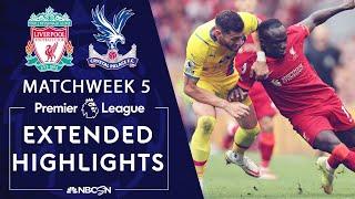 Liverpool v. Crystal Palace | PREMIER LEAGUE HIGHLIGHTS | 9/18/2021 | NBC Sports