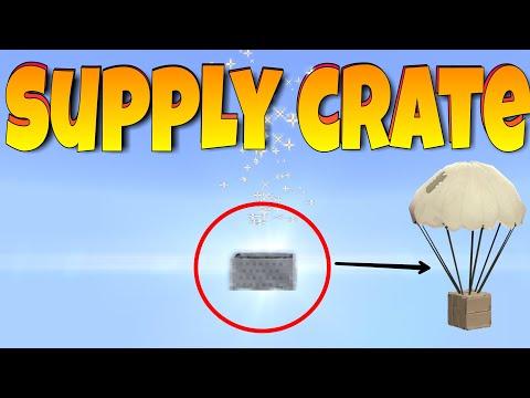Minecraft (Bedrock) - Command Block Supply Crates/Air Drops
