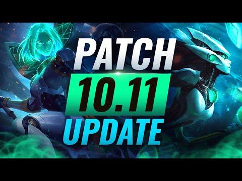 NEW UPDATE: BEST Champions TIER List – League of Legends Patch 10.11