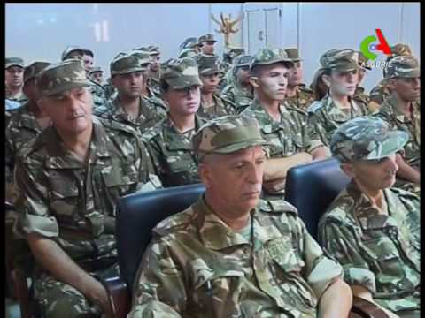 Oran (2RM) : Le Général de Corps d'Armée supervise, un exercice naval de tir avec missile mer-mer