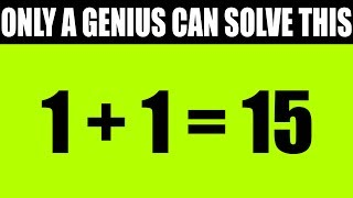 ONLY A MATHEMATICAL GENIUS CAN SCORE 7/10 OR HIGHER ON THIS MIND TEST!