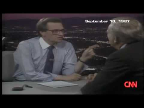 "1987 ""Larry King Live"" Interview With Actor Karl Malden"