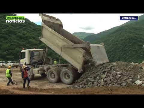 Avanzan obras en la cresta de la Hidroeléctrica Ituango