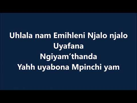 Sun EL Musician   Akanamali Feat  Samthing Soweto Lyrics  Lyrics Video