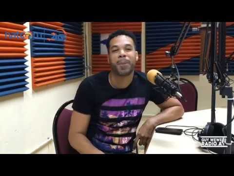 OLIVIER DURET INTERVIEW ON DAT 7 @ GUY WEWE LIVE ON VISA FM 88.1