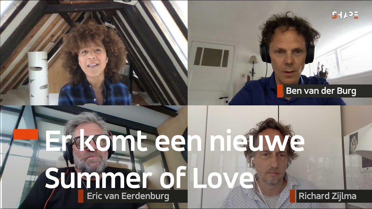 'Toekomst van festivals'   Eric v. Eerdenburg   Richard Zijlma   Ben v.d. Burg   Corona KeukenCast