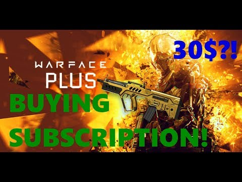 BUYING the Warface GOLD Subscription! Worth it?!