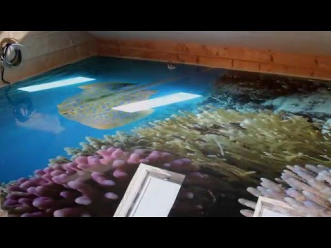 Fotofloor Dekoracyjne Posadzki żywiczne Podłogi 3d Youtube