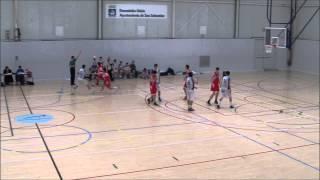 Aitor López Bretón; Official game vs Askatuak(1st&2nd quarter) #4(redshirt)