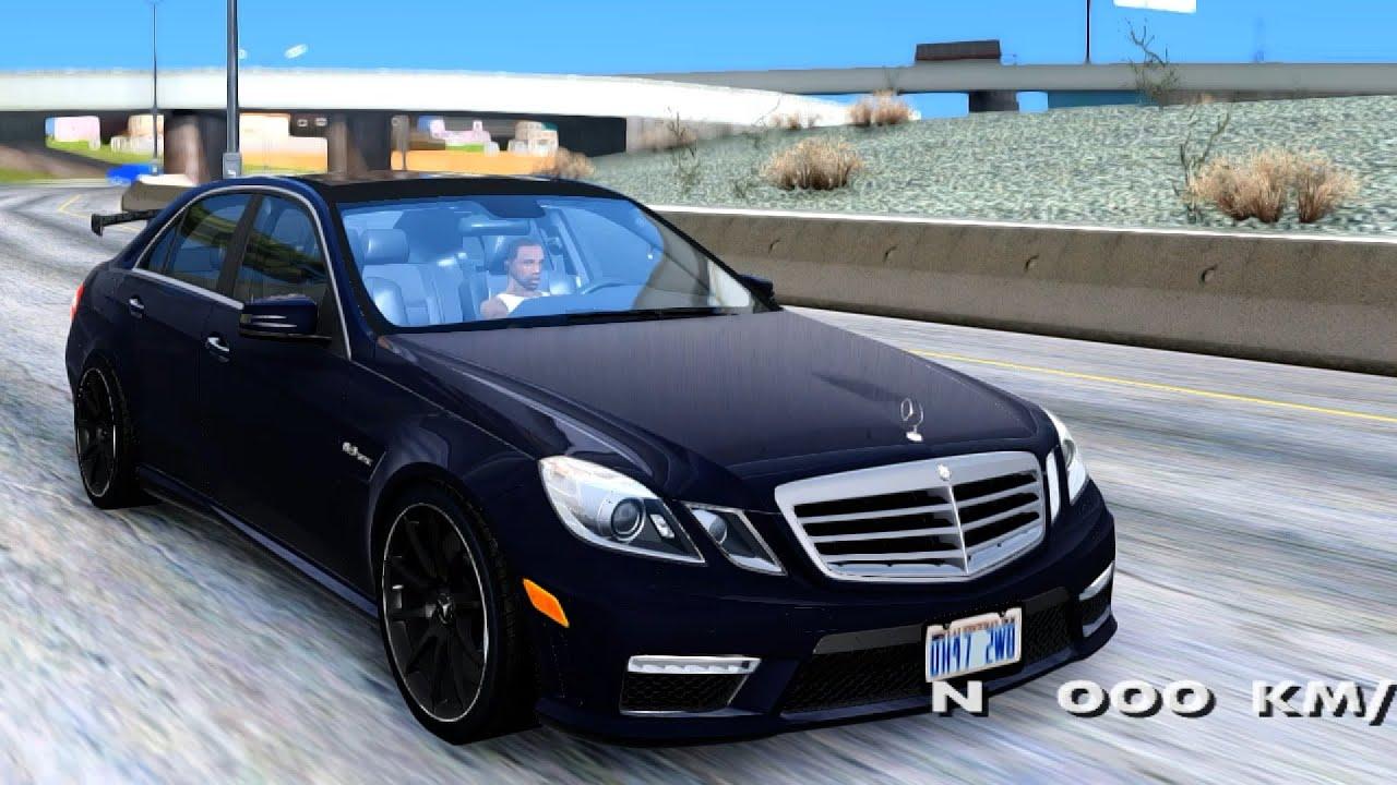 Gta San Andreas 2011 Mercedes Benz E63 Amg Black Series