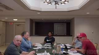 Hard Knocks: Ep. 3 Clip - Jon Gruden and Rex Ryan Meet with Jameis Winston (HBO)
