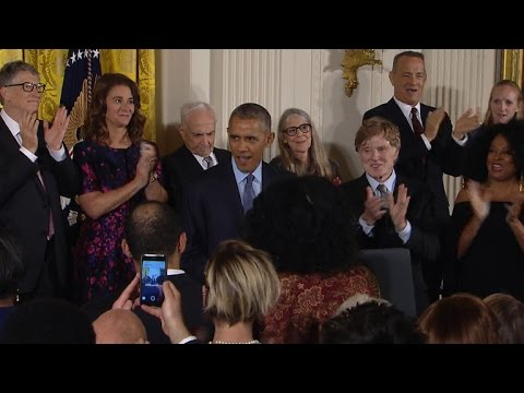 President Obama presents Medals of Freedom