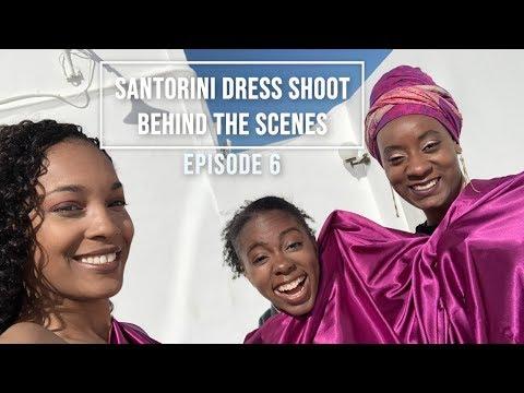 Episode 6: Spring Break Chronicles - Behind the Scenes Santorini Dress Shoot