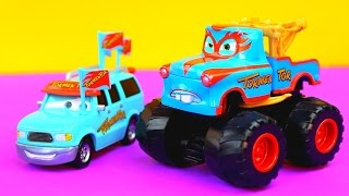 Disney Cars Mater Tormentor saves Radiator Springs from Dr. Feelbad & Rasticarian