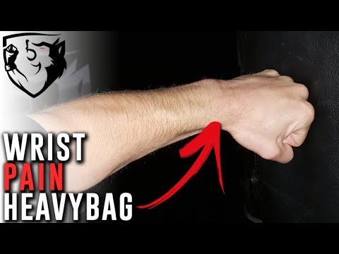 Wrist Pain When Hitting A Heavybag? Try This!