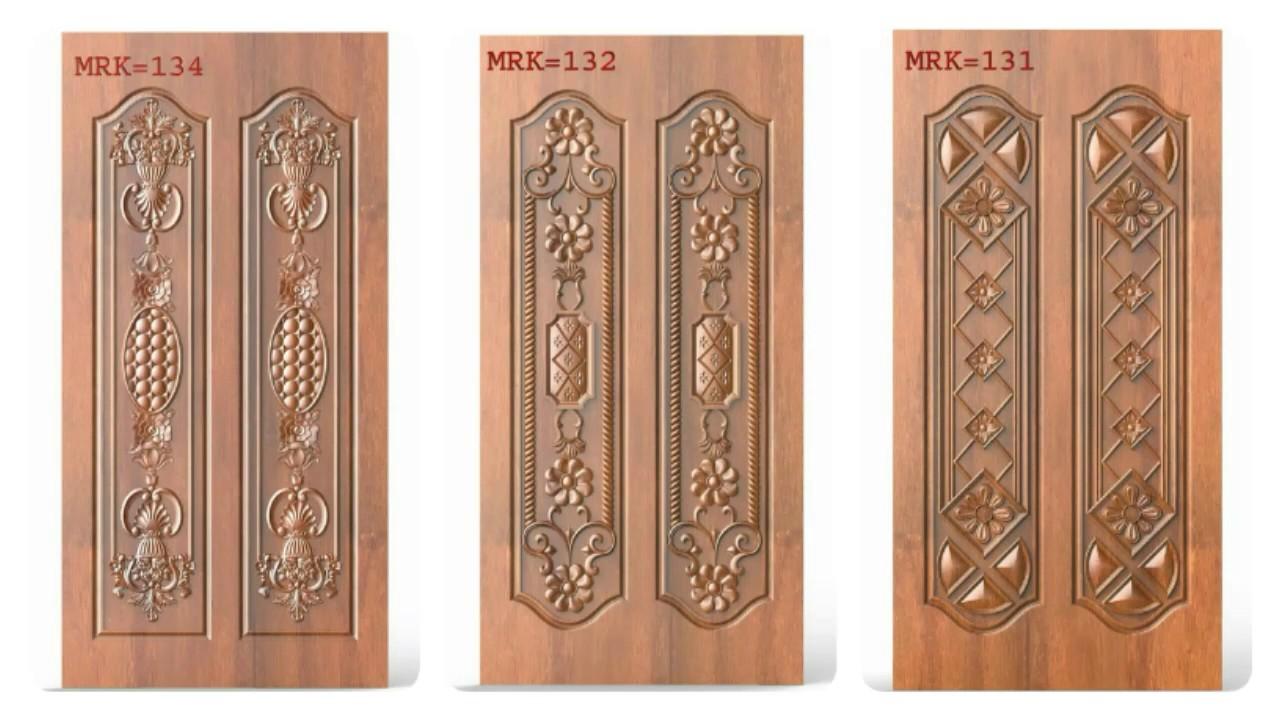 New door models MRK wood carving & New door models MRK wood carving - YouTube