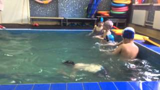 открытый урок бассейне (Слава) 22.04.2015