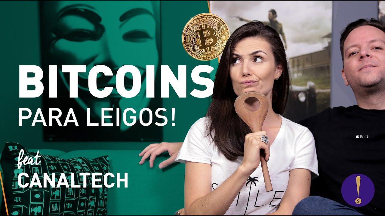NATHALIA ARCURI - BITCOINS PARA LEIGOS! É investimento?| Como comprar? (Feat CanalTech)