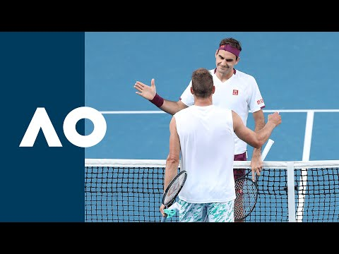 Roger Federer vs Tim Henman 2006 US Open R2 Highlights from YouTube · Duration:  13 minutes 7 seconds
