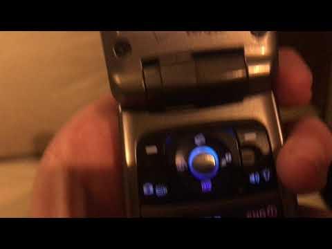 Verizon Casio gzone water and shock proof flip phone
