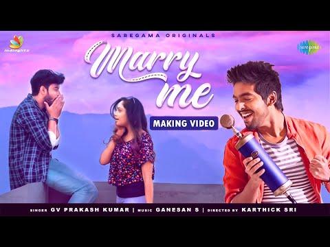 GV Prakash Kumar's Marry Me Song Making Video | Smruthi Venkat | Rakesh Rajan | Ganesan S