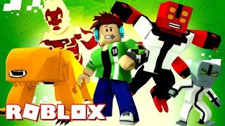 I USED 10 AND OMNITRiX! - Roblox Super Heroes