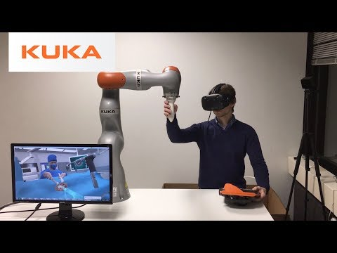 Envisioning the Future of Robotic Virtual Surgery - KUKA HIP-ster Concept