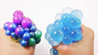 Цветные шарики лошарики. Как сделать? Обучающие и развивающие мультики, обзоры детских игрушек