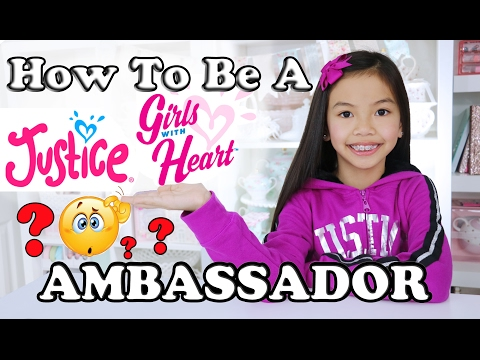 JUSTICE GIRLS W/HEART AMBASSADOR INFO & VLOG!