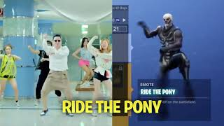 Fortnite Battle Royale vs Real life dance (Ft Backpack kid