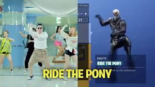 Fortnite Battle Royale vs Real life dance (Ft Backpack kid