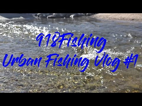 Urban Fishing Vlog#1: Trying Our Hand A Bass Fishing A Few Urban Ponds In Tulsa