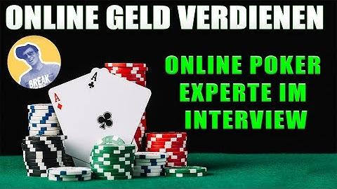Online Geld verdienen mit Online Poker Experteninterview mit Poker Experte Martin Schiefer
