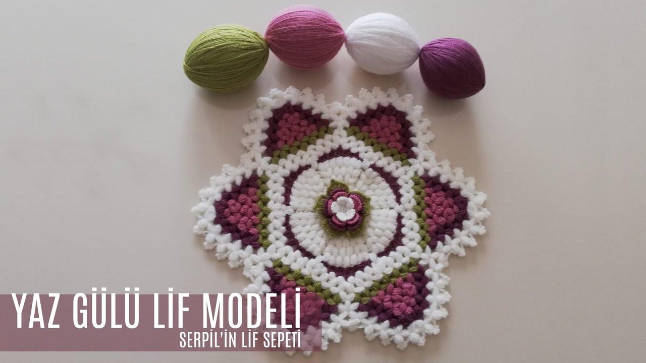 Serpilin Lif Sepeti- Yaz Gülü Lif Modeli( Tasarım:Lif Uzmanı)