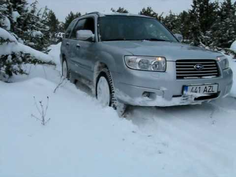 2006 subaru forester in snow youtube. Black Bedroom Furniture Sets. Home Design Ideas